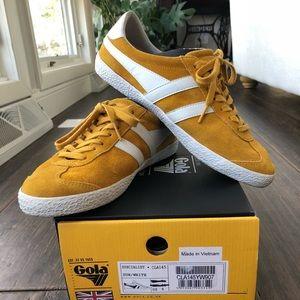 In box-Gola Specialist Sneaker; fit like a size 10